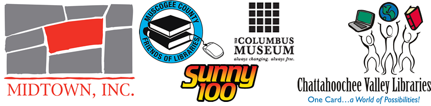 sponsors, midtown, inc., sunny 100, chattahootchee valley library