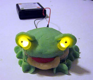 squishy circuits caterpillar